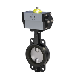 Pneumatic Butterfly Valves
